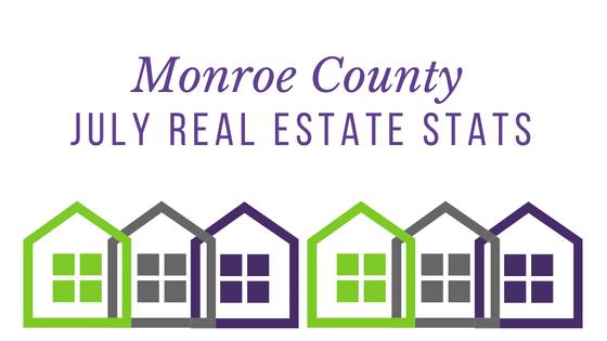 Monroe County July Housing Stats