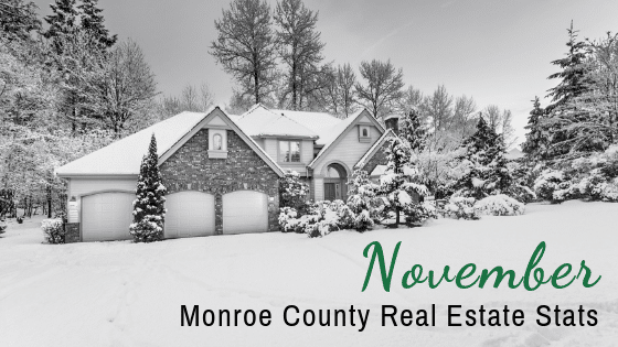 November Monroe County Real Estate Stats