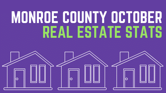 Monroe County October Real Estate Stats